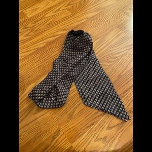 Vineyard Vines Silk scarf Georgia Bulldogs Black